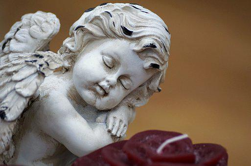 Angel, Wing, Figure, Guardian Angel, White, Deco