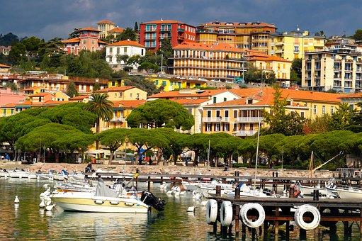 City, Town, Harbour, Port, Landscape, Cityscape, Boat