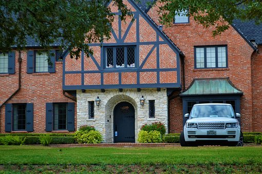 Luxury Home, Lighting, Windows, Mansion, Range Rover