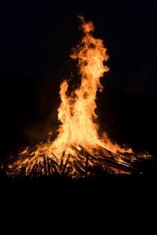 Fire, Flame, Solstice, Midsummer Fire Festival