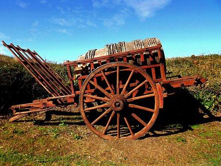 Cart, Brittany, Medieval, Former, Heritage, Old Village