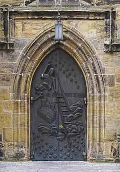 Portal, Church Portal, Church, Building