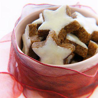 Cinnamon Stars, Bowls, Loop Tape, Loop, Red, Gift