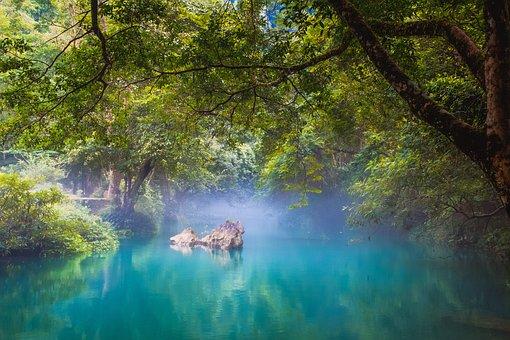 Vietnam, Famous, Stream, Spring, River, Best, Blue