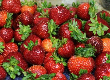 Strawberries, Fruit, Healthy, Strawberry, Fresh, Food