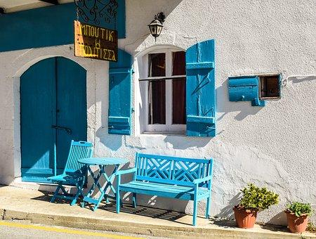 Cyprus, Psematismenos, Shop, Exterior, Street