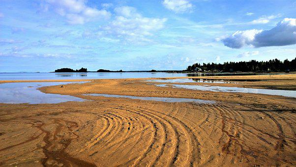 Beach, Sea, Water, Summer, Coastal, Nature, Himmel