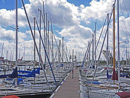 Marina, Web, Investors, Sailing Boats, Summer, Sea
