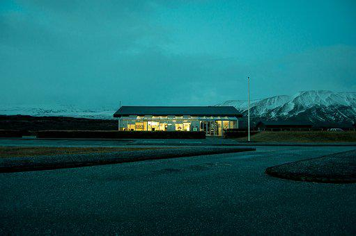 Iceland, Cold, Nature, North, Coffee-shop, Turquoise
