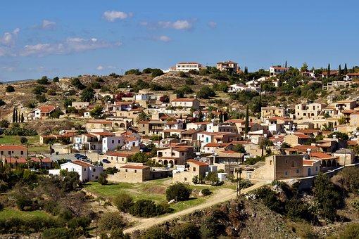 Cyprus, Psematismenos, Village, Architecture