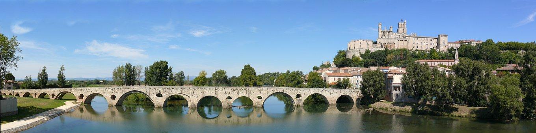 Roman Bridge, Béziers, Saint-nazaire Cathedral