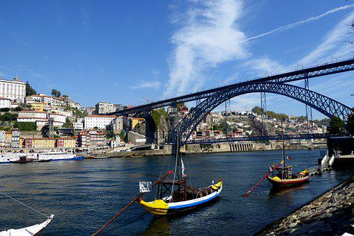 Porto, Boats, Douro, Portugal, River, Travel