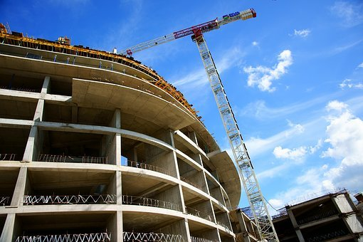 Construction, Crane, Architecture, Engineer