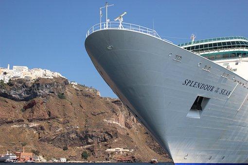 Cruise Ship, Harbor, Ship, Cruise, Travel, Sea, Tourism
