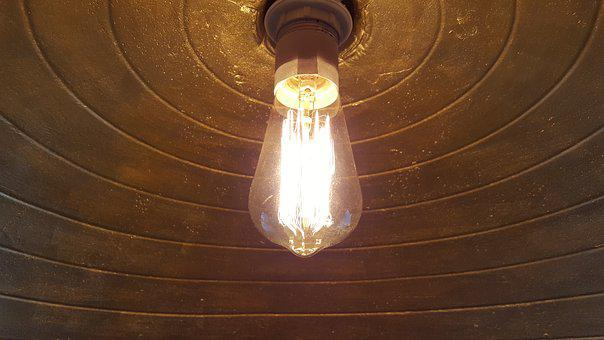 Light Bulb, Eddison, Light