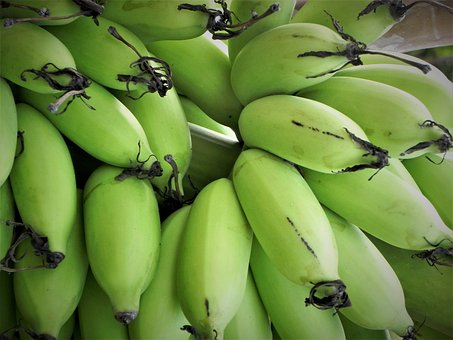 Banana, Fruit, Fresh, Healthy, Organic, Vegetarian