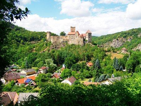 Hardegg Castle, Medieval Castle, Austria