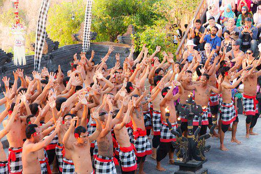 Uluwatu, Culture, Bali, Monkey Dance, Holiday