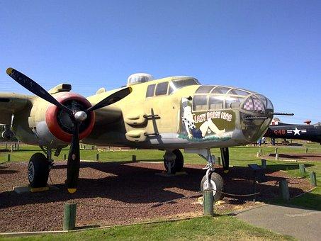 North American B-25 Mitchell, B-25, Mitchell, Bomber