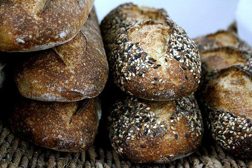 Baguette, Bread, Loaf, Loaves, Sesame, Flax, Poppy Seed