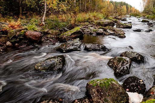 Landscape, Landscape Photo, River, Autumn