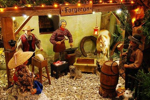 Santons, Crib, Christmas Crib Figures, Santon