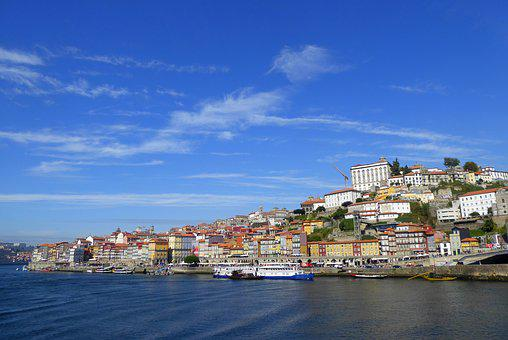 Porto, Panorama, Old Town, Sky, Summer, Portugal