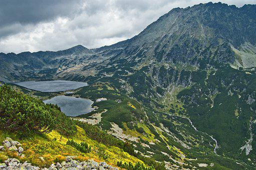 Mountains, Tatry, The High Tatras, The Valley Of The