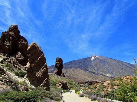 Teide, Tenerife, Teide National Park, Volcano, Nature