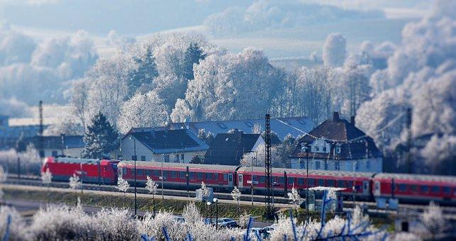 Train, Railway, Transport, Rail, Rail Traffic, Wagon