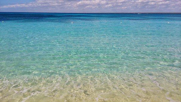 Sea, Caribbean, Ocean, Tropical, Beach, Water, Blue