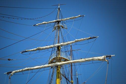 Boat, Sail, Ship, Sail Boat, Water, Ocean, Vessel