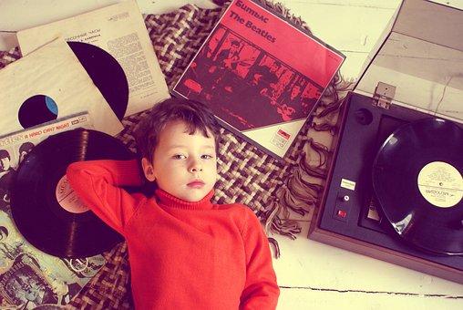Records, The Beatles, Turntable, Vinyl, Vinyl Discs