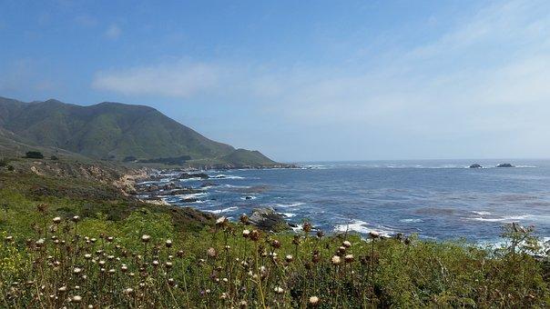 Coast, Nature, Scenic, Sea, Beach, Ocean, Shore
