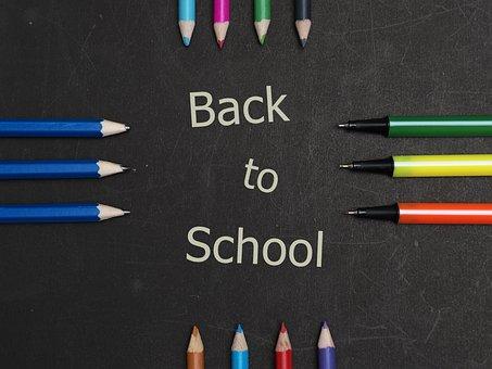 Pencil, Color, Pen, Black Board, Message