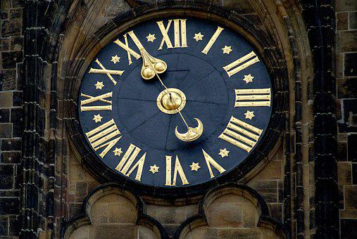 Clock, The Town Hall, Architecture, Monument, City