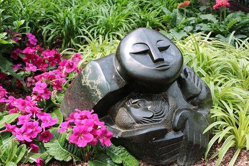 Sculpture, Color, Violet, Nature, Artistic, Colorful