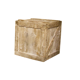 Wooden, Box, Crate, Shipping, Container, Package