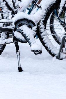 Wheel, Winter, Snow, Bike, Bicycle, Cycle
