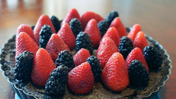 Dessert, Strawberries, Food, Strawberry, Sweet, Fruit