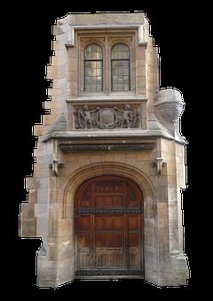 Entrance, Door, Wooden, Home, Wood, Sandstone