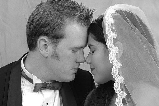 Bride And Groom, Wedding, Bride, Love, Groom, Couple