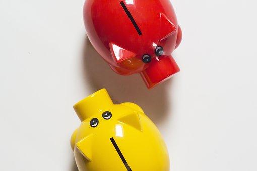 Piggy Bank, Save, Money, Finance, Save Money, Euro