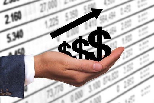 Dollar, Money, Profit, Revenue, Success, Rising