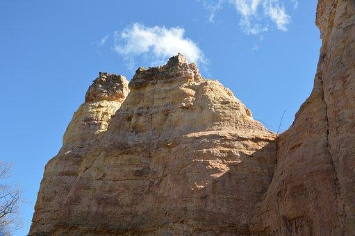Canyon, Sky, Nature, Landscape, National Park, Rock