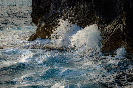 Wave, Crushing, Rocky Coast, Rock, Nature, Sea, Wild