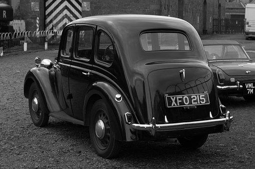 Old, Car, Retro