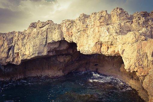 Sea Cave, Erosion, Rock, Geology, Hole, Sea, Landscape