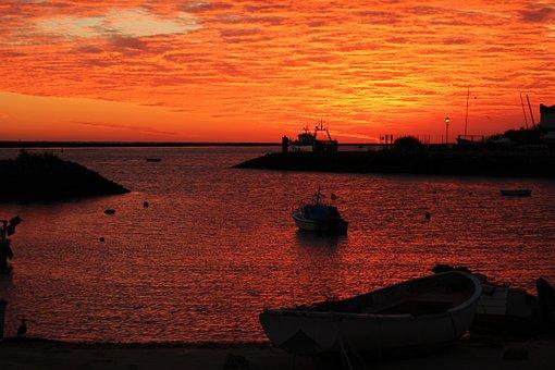Dawn, Puntadelmoral, Ayamonte, Awakening