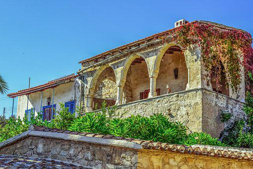 Old House, Balcony, Architecture, Traditional, Exterior